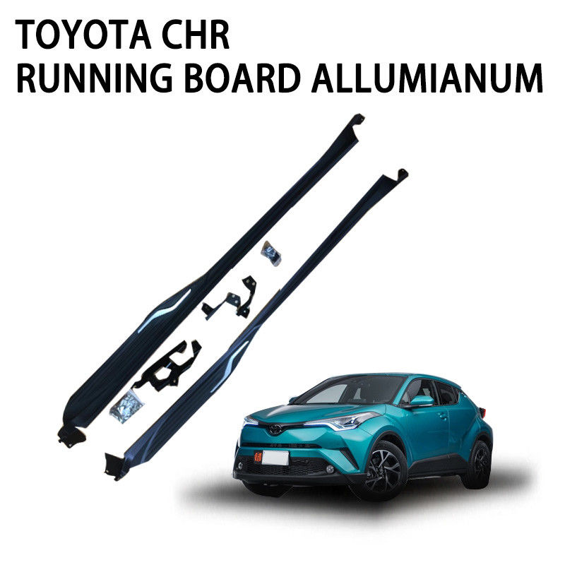 Non Slipping Pickup Truck Running Boards , Off Road Running Boards Anti Rust