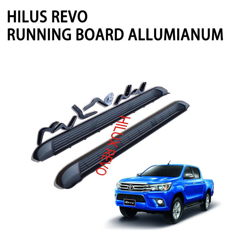 Black Color Ram Truck Running Boards Customized Size 216*21*21cm Compatibile